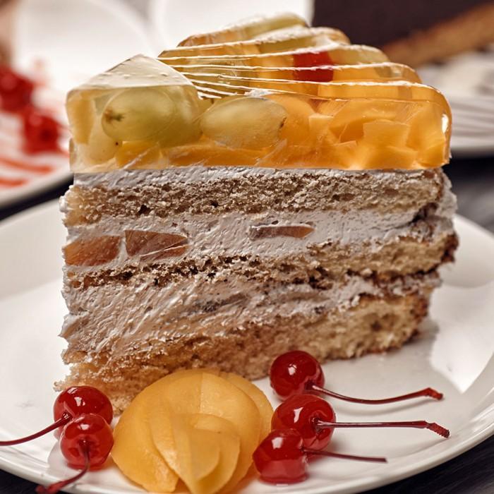 """Торт """"Фруктовый парадиз"""""""